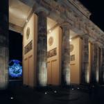 Erstmals vor dem Brandenburger Tor in Berlin konnten 110.000 begeisterte Besucher verzeichnet werden.