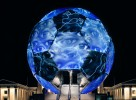 The FIFA-Worldcup Football Globe 2006 was sent through all German cities hosting a football match