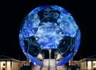 Der FIFA-WM-Globus 2006 besuchte alle zwölf Austragungsorte in der BRD.