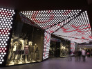 video-based media façade Medienfassade on Frankfurt´s Zeil