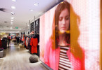 Instore-Entertainment mit LED-Technik und HighRes-Modulen