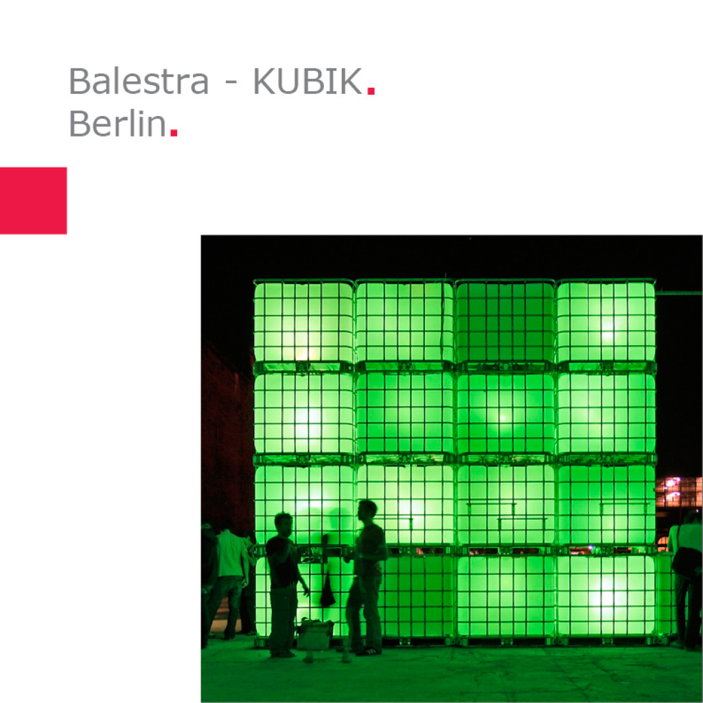 Balestra   KUBIK – Berlin, Barcelona, Lissabon