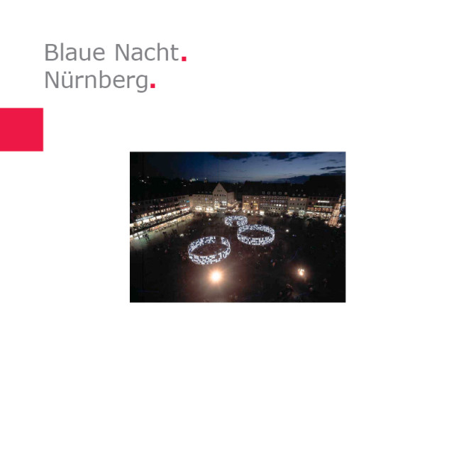 City of Nuremberg I Line 03 – Blue Night