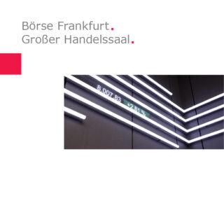 Atelier Brückner | Börsensaal Frankfurt