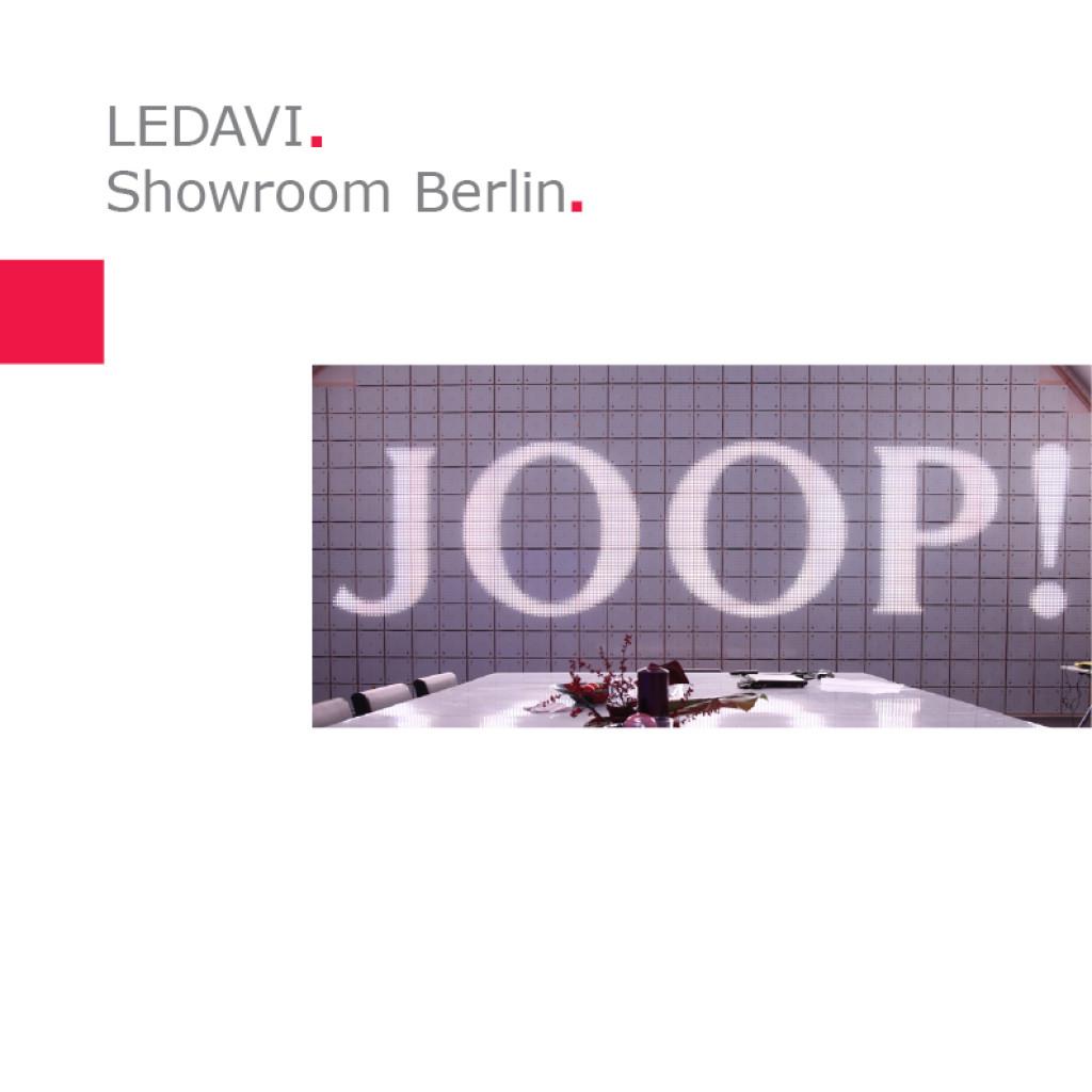 LEDAVI   Showroom, Berlin