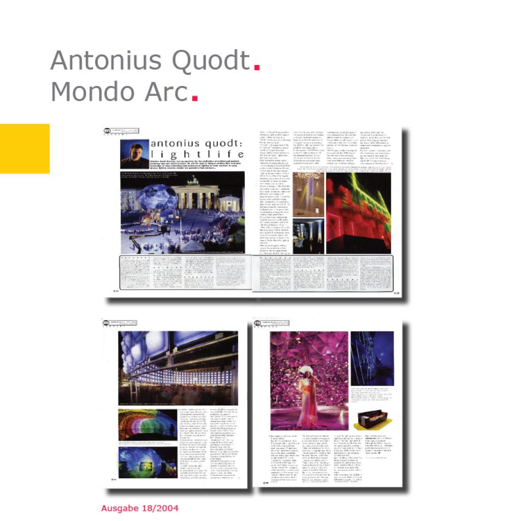 Mondo Arc | Antonius Quodt
