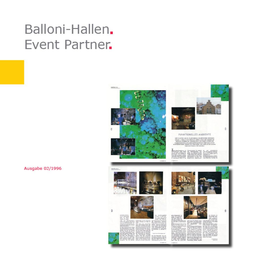 Event Partner | Balloni Hallen, Köln