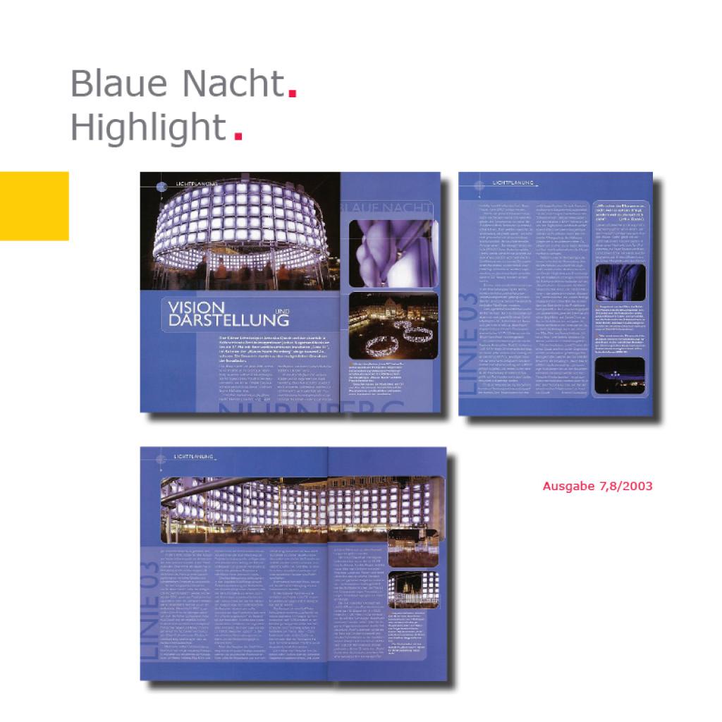 Highlight   Linie 03 – Blaue Nacht