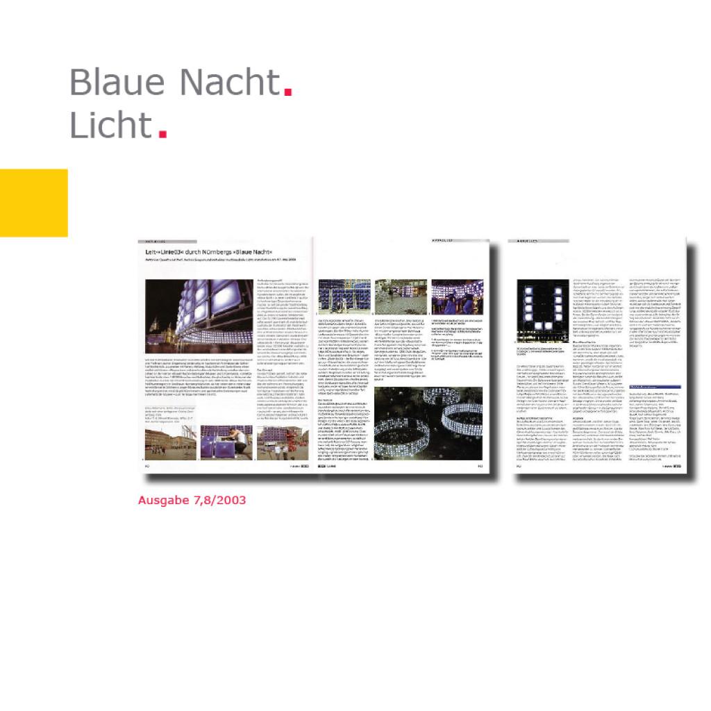 Licht   Linie 03 – Blaue Nacht