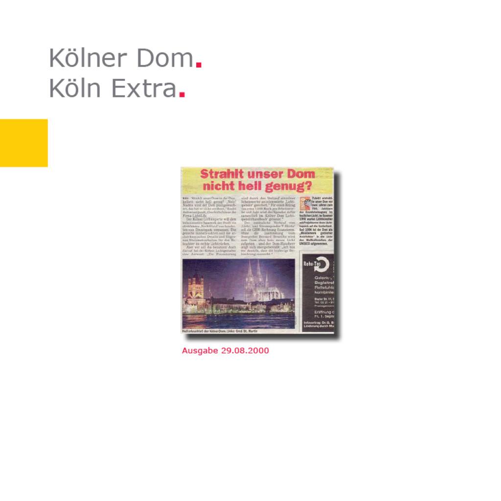 Köln Extra   Kölner Dom