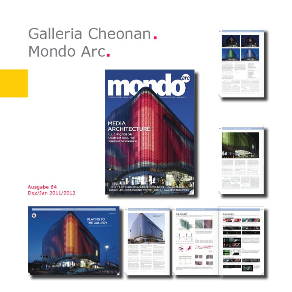 Mondo Arc   Galleria Centercity – Cheonan, Korea
