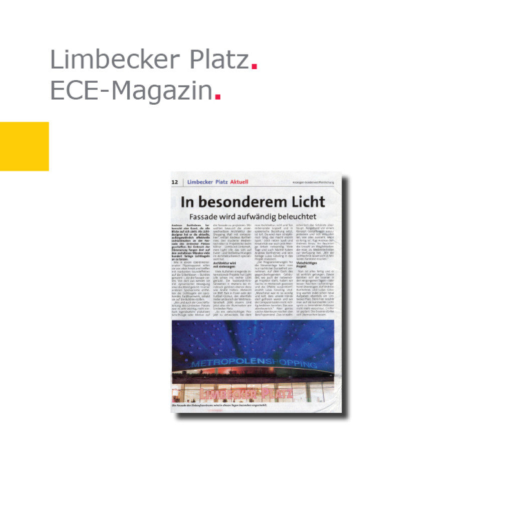 ECE-Magazin   Limbecker Platz, Essen