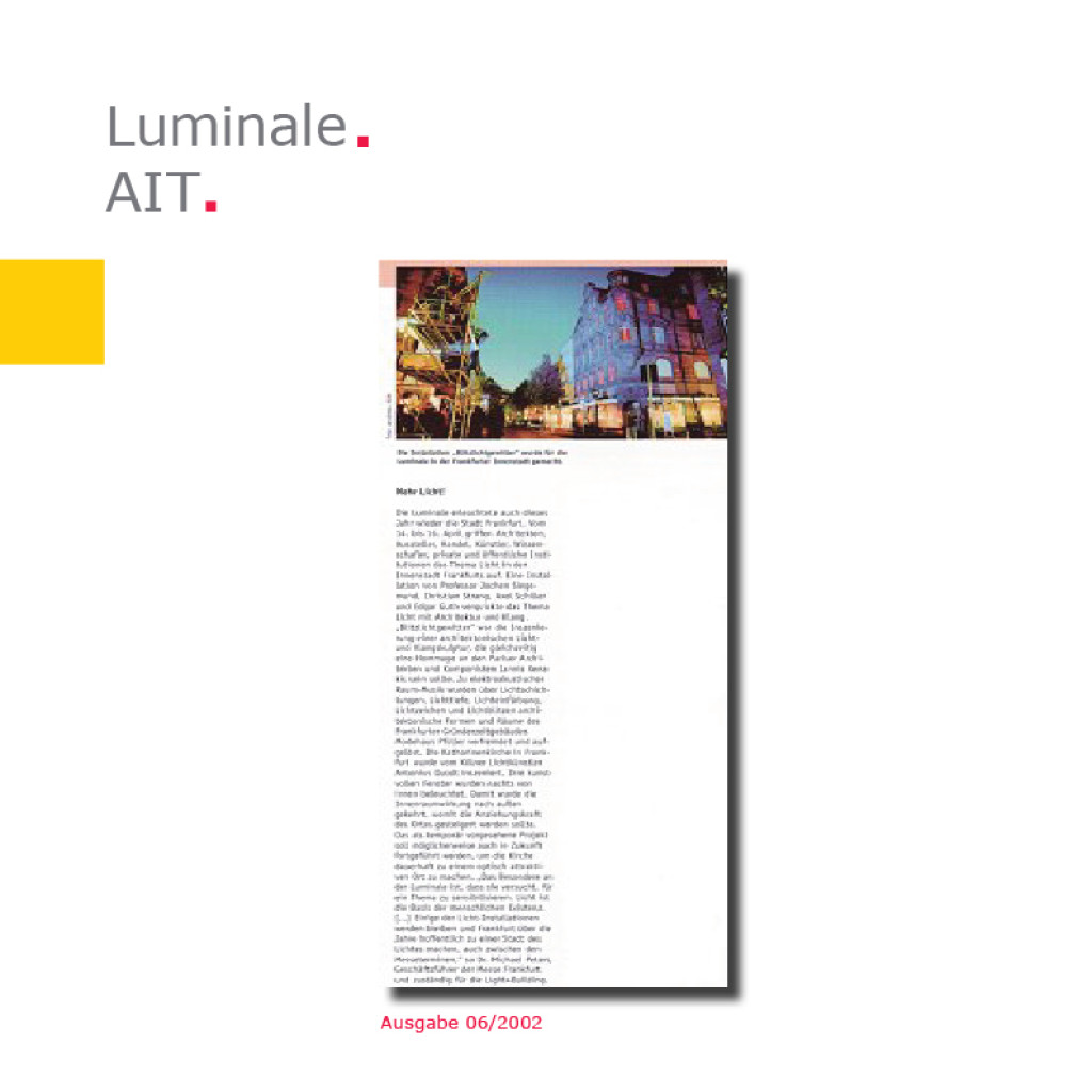 AIT | Luminale