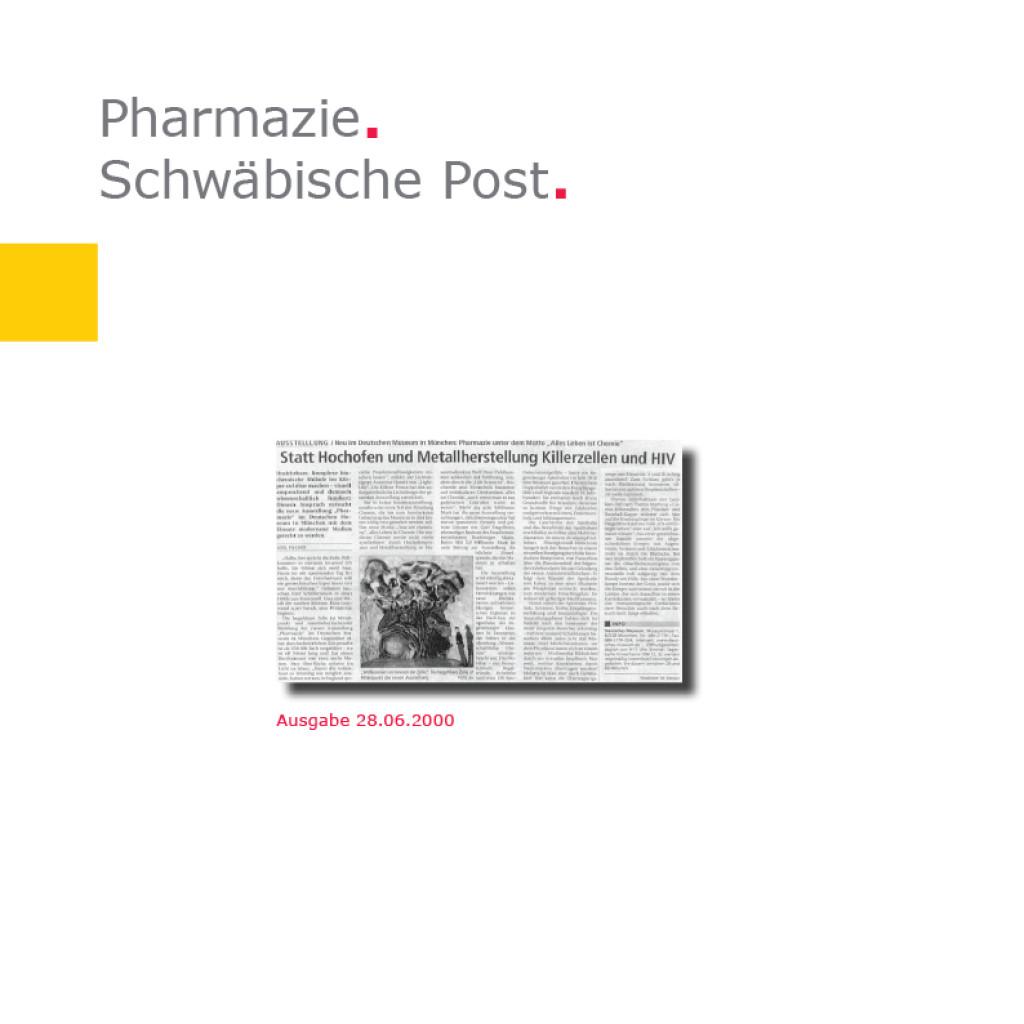 Schwäbische Post   Deutsches Museum – Pharmazie
