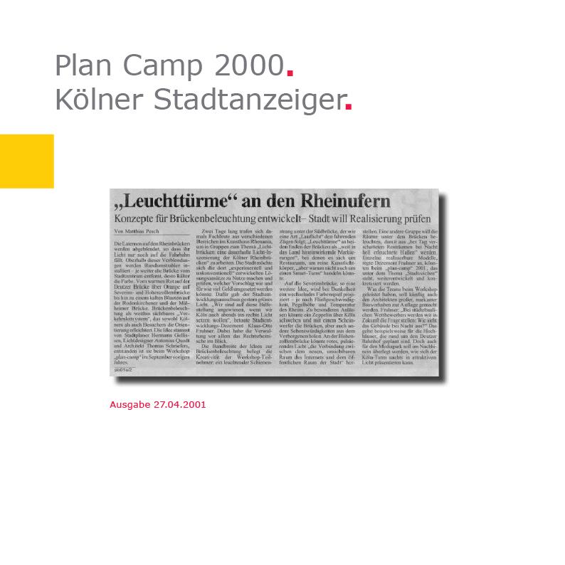 KStA | Plan Camp 2000
