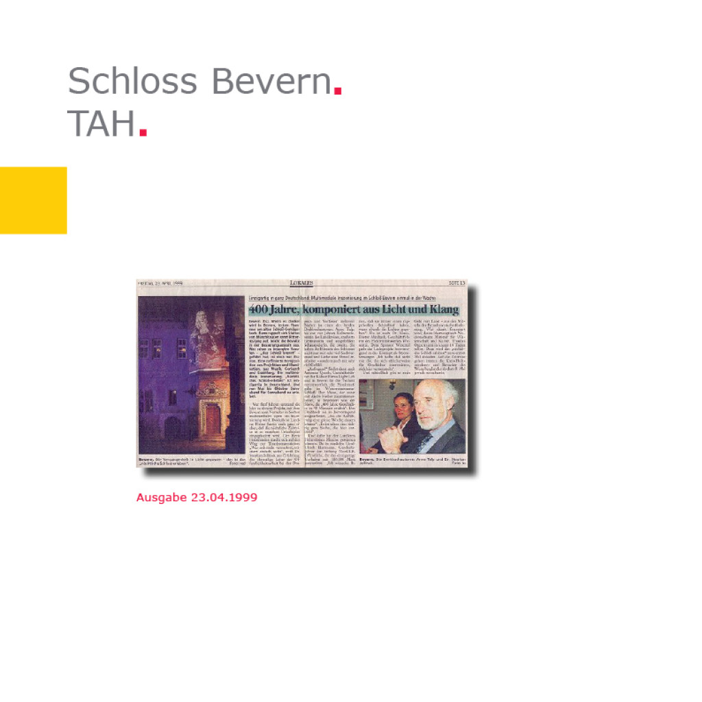 TAH   Schloss Bevern