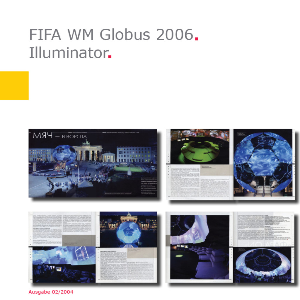 Illuminator   Fußball-Globus FIFA WM 2006