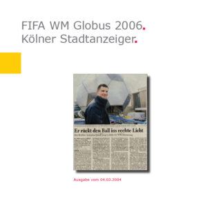 (Deutsch) KStA | Fußball-Globus FIFA WM 2006