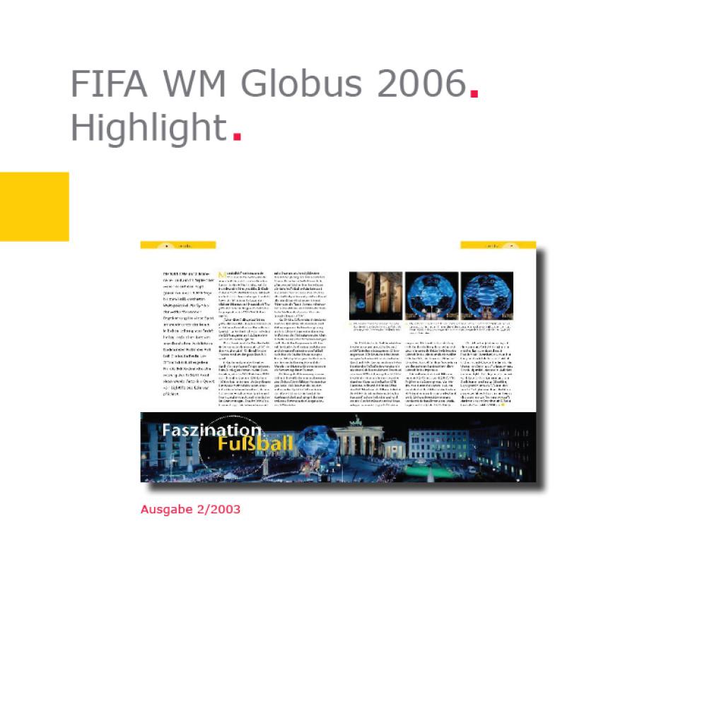 Highlight   Fußball-Globus FIFA WM 2006