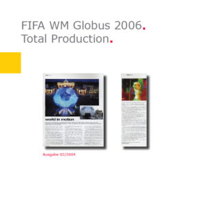 (Deutsch) Total Production | Fußball-Globus FIFA WM 2006