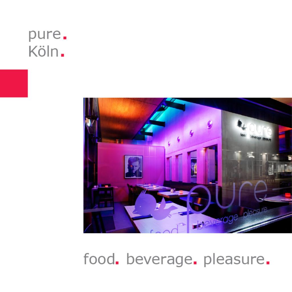 pure Köln – food   beverage   pleasure