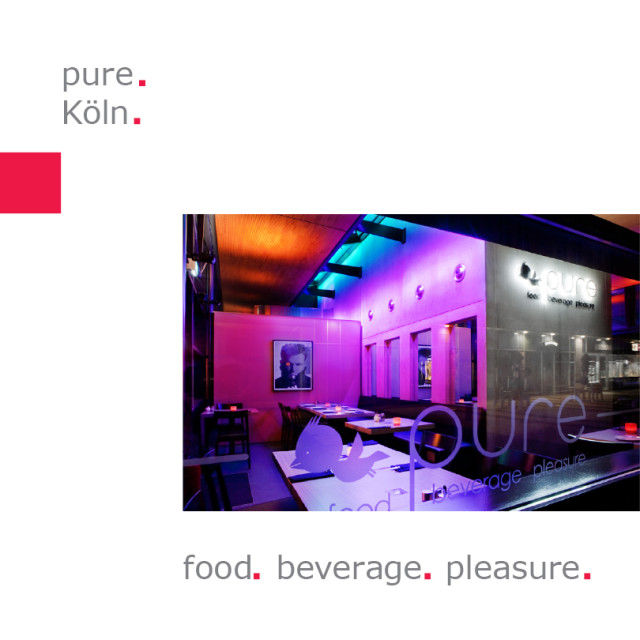 pure Köln – food | beverage | pleasure