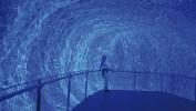 Lichtkokon realisiert mit 40 Kilometern Lichtleitfaser.