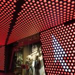 Ca. 14.000 einzeln ansteuerbare, interaktive LEDs im Sondergehäuse