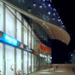 Der Eingangsbereich des ECE Einkaufszentrums am Limbecker Platz in Essen