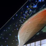 Die farbigen Lichtkugeln - Bubbles genannt