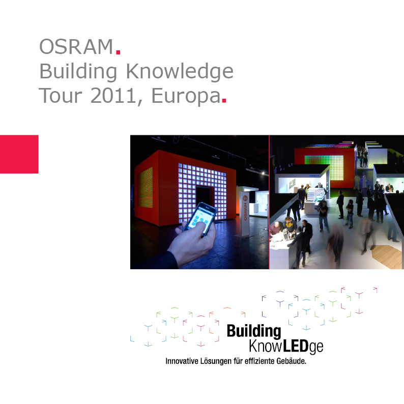 OSRAM | Building KnowLEDge Tour 2011, Europa
