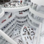 Die Mall von oben
