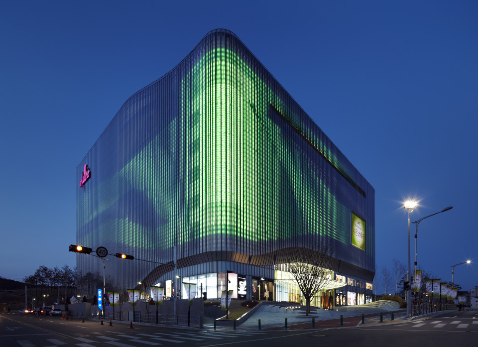 Zumtobel | Galleria Centercity – Cheonan, Korea