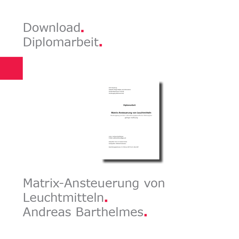 Diplomarbeit Andreas Barthelmes