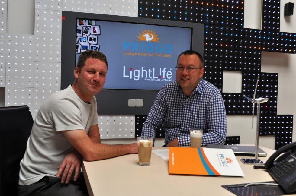 LightLife Gesellschaft für audiovisuelle Erlebnisse mbH und  Priogo AG vereinbaren strategische Kooperation