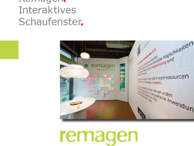 Remagen | Interaktives Schaufenster 2.0