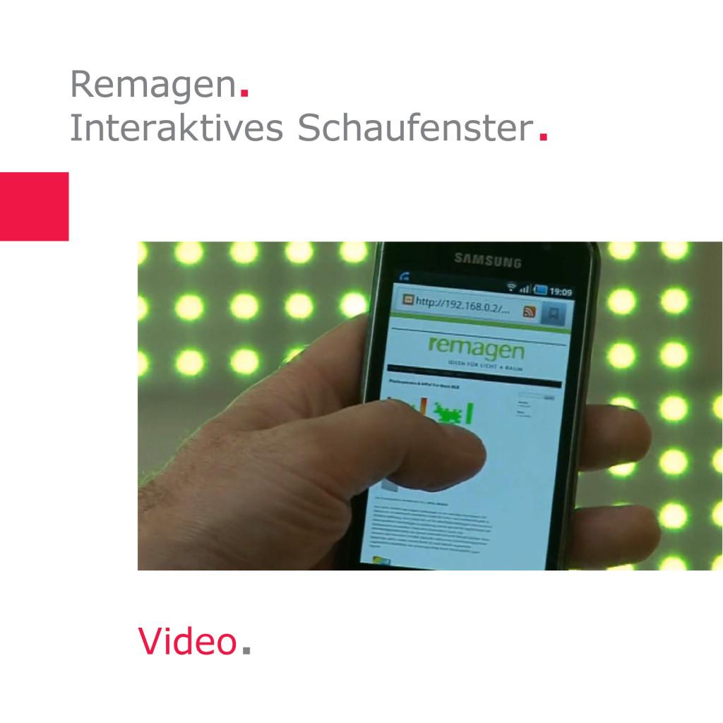 Remagen | Interaktives Schaufenster 2.0