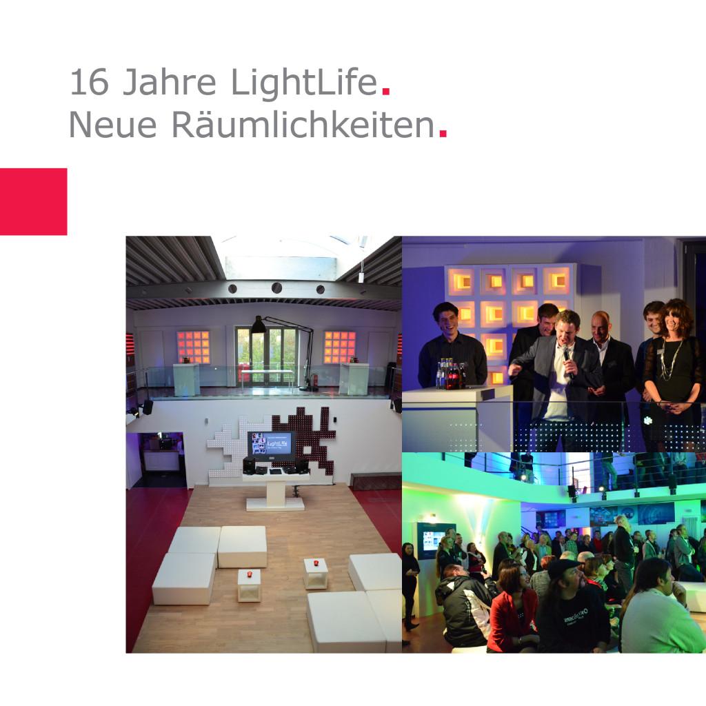 Neue Räumlichkeiten in Köln   16 Jahre LightLife