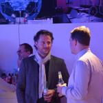 Unter den Gästen: Malte Fromm (links) und Markus Helle (Highlight Verlag, rechts).