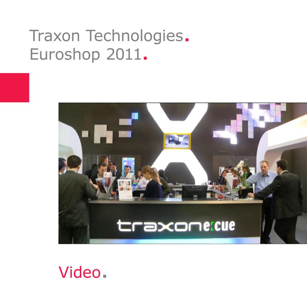 Traxon Technologies   Messestand Euroshop 2011