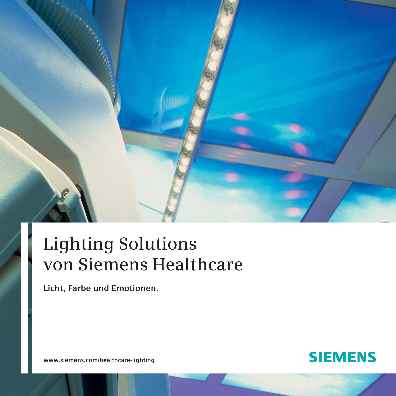 Siemens Healthcare | Lighting Solutions (German)