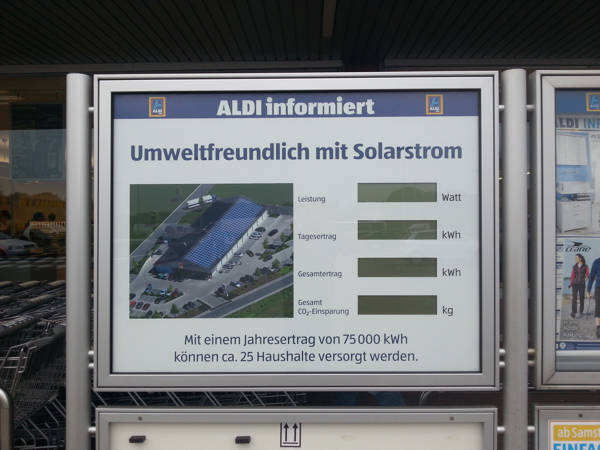 Solaranlage ALDI