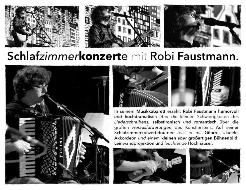Schlafzimmerkonzert mit Robi Faustmann in der LightLife