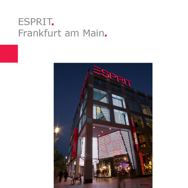 ESPRIT | Flagship Store – Frankfurt, Germany