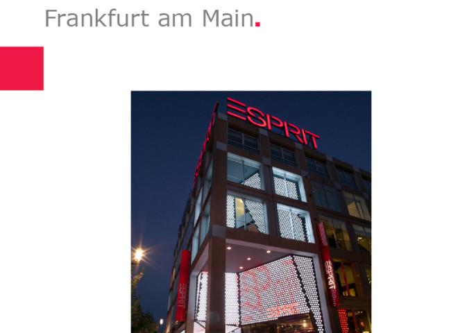 ESPRIT | Flagship Store, Frankfurt am Main