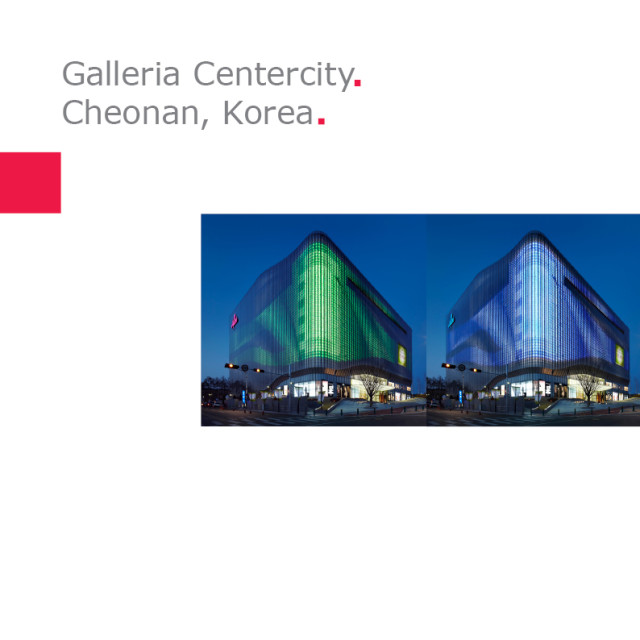 (Deutsch) Zumtobel | Galleria Centercity – Cheonan, Korea