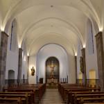 Kapelle: Sicht auf Altar