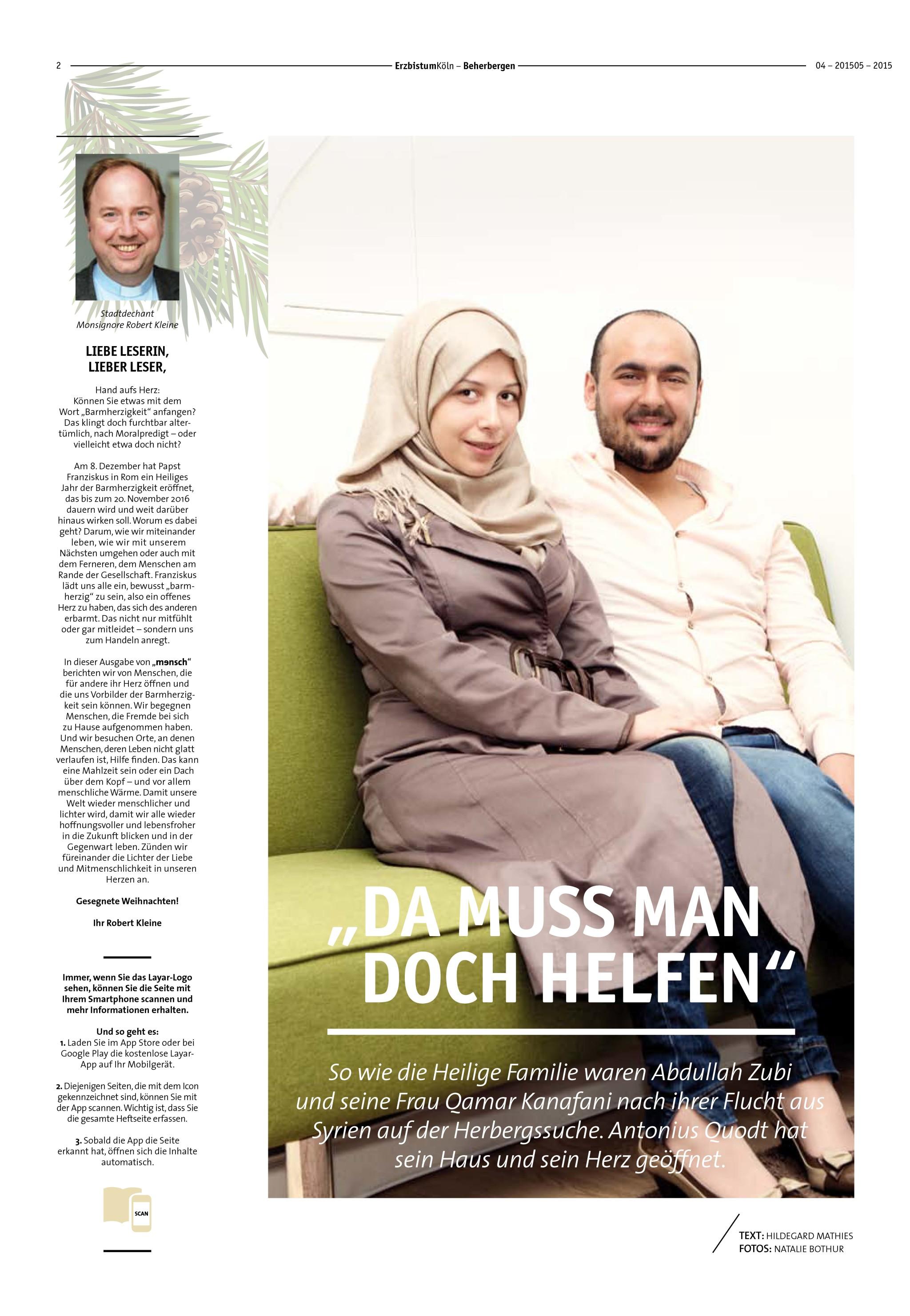 Magazin Mensch 4/2015 | Seite 2