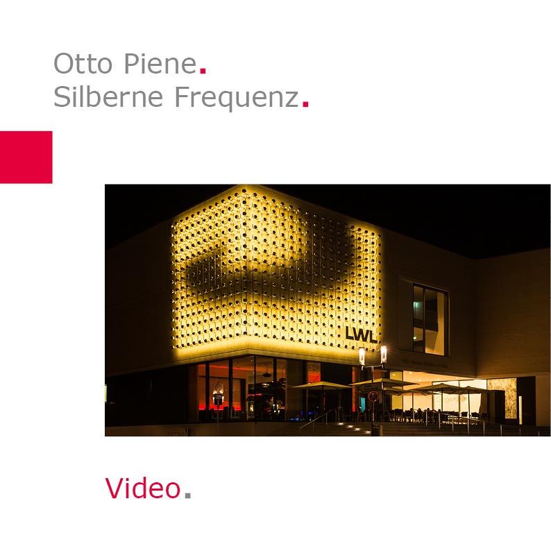 Timelapse Otto Piene | Silberne Frequenz | LWL-Landesmuseum für Kunst und Kulturgeschichte