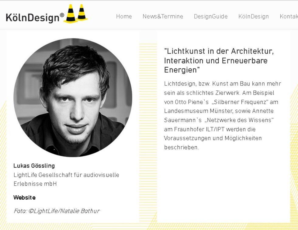 KölnDesign trifft Architektur